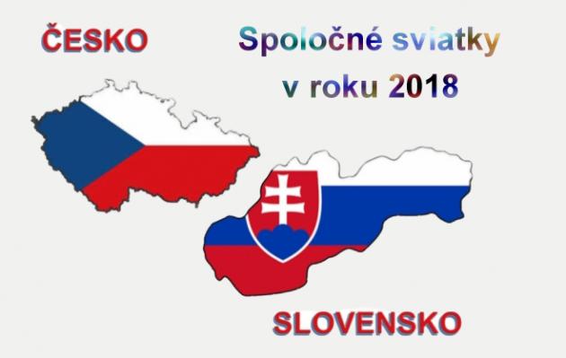 Štátne sviatky 2018 v ČR a SR    Články  56f341694e2